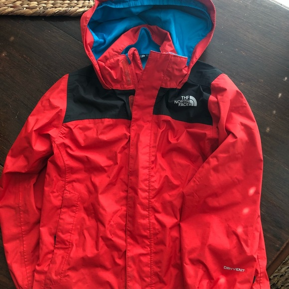 93e345449 North face toddler rain jacket